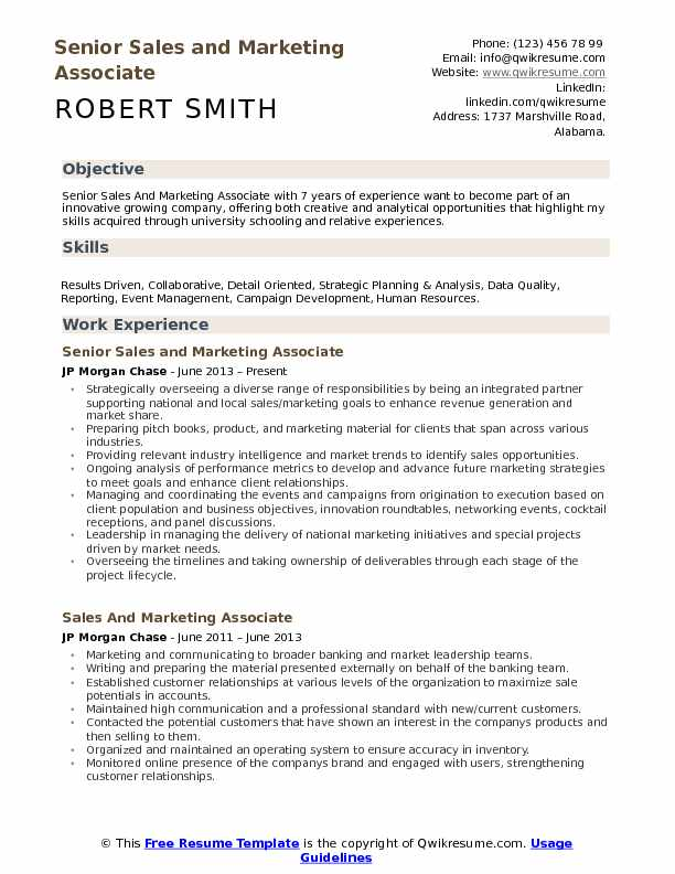 and marketing associate resume samples qwikresume objective for promotion pdf Resume Objective For Promotion Resume