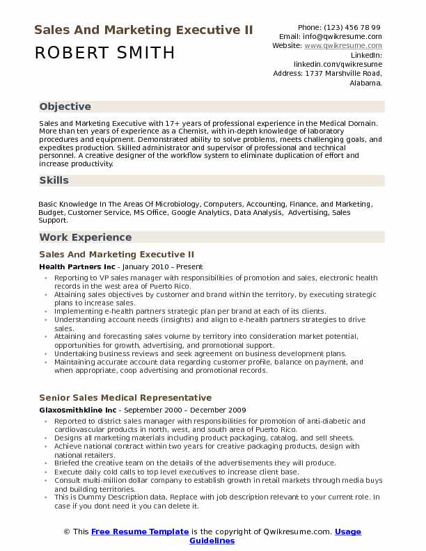 and marketing executive resume samples qwikresume pdf front desk staff classic format Resume Marketing Executive Resume