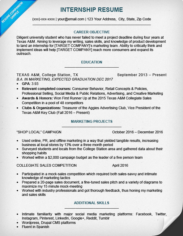 best internship resume templates to for free wisestep sample college student looking Resume Sample Resume For College Student Looking For Internship