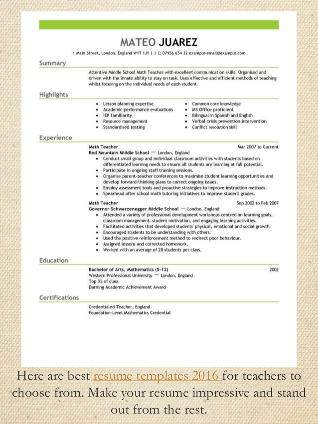 best resume format good samples unc template masters thesis free builder customer service Resume Good Resume Format 2016