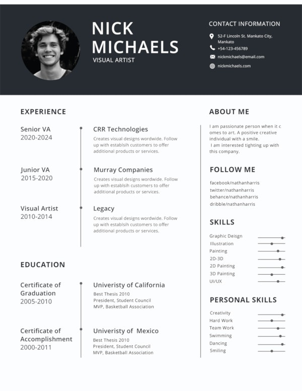 best resume formats pdf free premium templates most used format forensic science system Resume Most Used Resume Format
