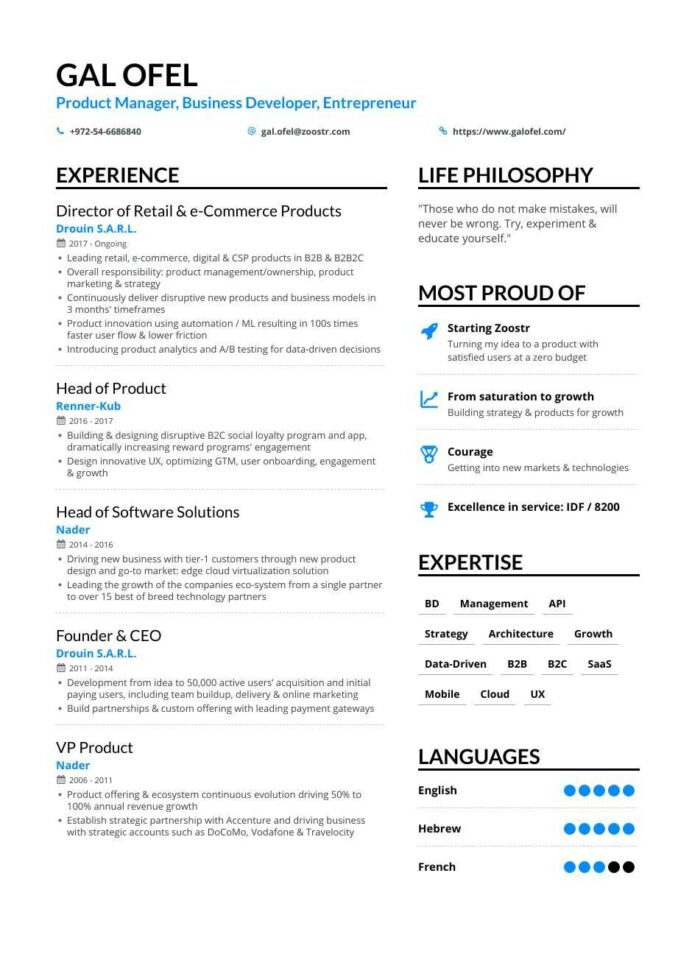 business development resume samples and writing guide for enhancv short engaging pitch Resume Short And Engaging Pitch About Yourself Examples For Resume