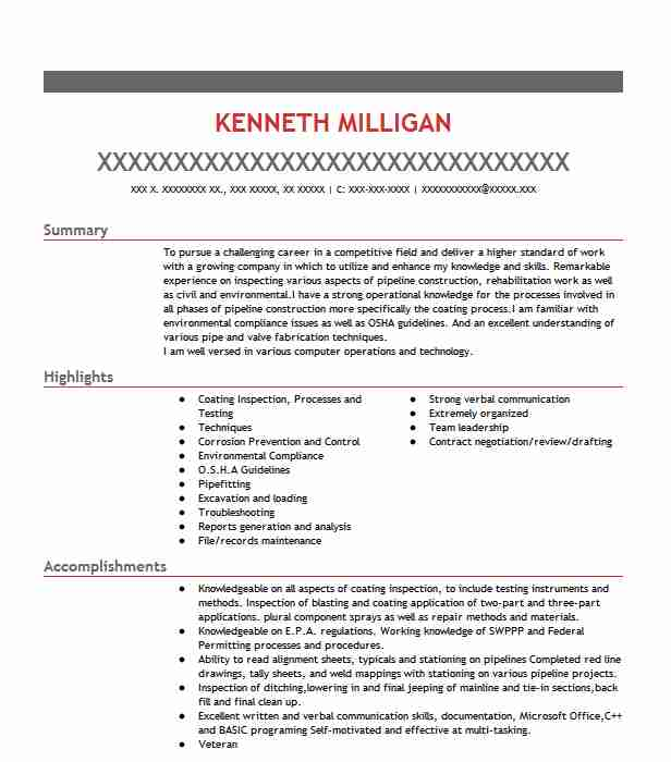 coating inspector resume example century technical services mandeville google functional Resume Coating Inspector Resume