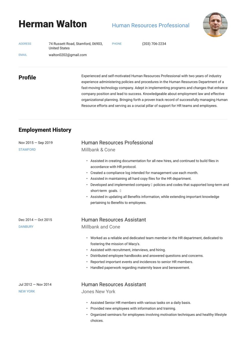 create your job winning resume free maker io make fast and easy associate project manager Resume Make A Resume Fast And Easy