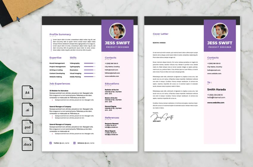 creative resume cv design tips with template examples for headings scannable short Resume Creative Resume Headings