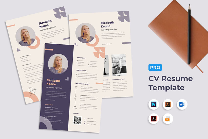 creative resume cv design tips with template examples for learn adobe indesign an Resume Learn Adobe Indesign Design An Interactive Resume Portfolio