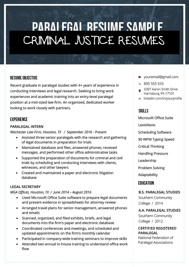 criminal justice resumes free templates sample resume for recent college graduate of Resume Sample Resume For Recent College Graduate Criminal Justice