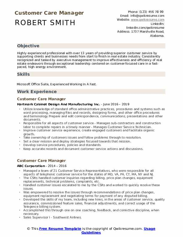 customer care manager resume samples qwikresume format for experienced service executive Resume Resume Format For Experienced Customer Service Executive