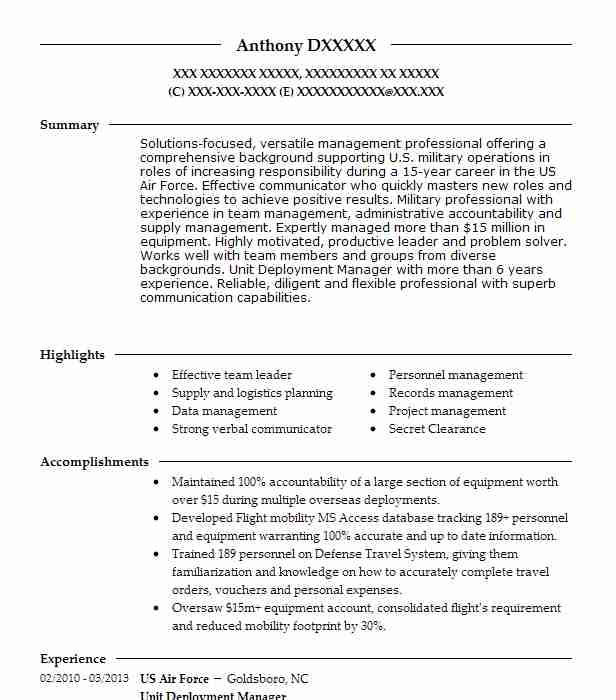 deployment manager project resume example appsfreedom inc township new builder login Resume Deployment Manager Resume