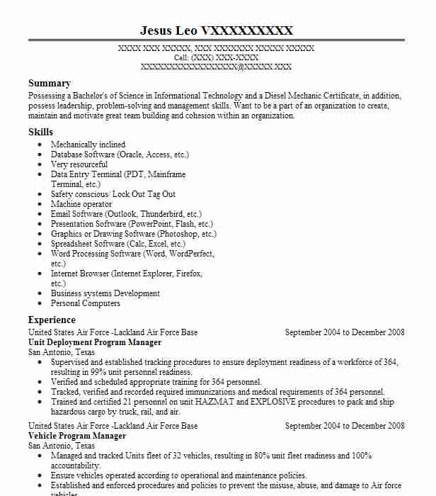 deployment manager project resume example appsfreedom inc township new mainframe for Resume Deployment Manager Resume