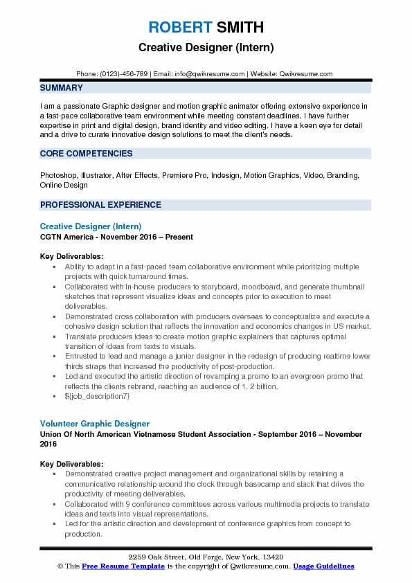 designer resume samples examples and tips career objective for fresher fashion creative Resume Career Objective For Resume For Fresher Fashion Designer