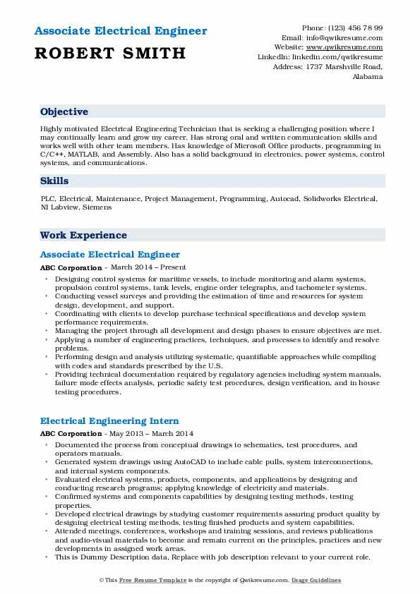electrical engineer resume samples qwikresume for electronics and communication engineers Resume Resume Samples For Electronics And Communication Engineers