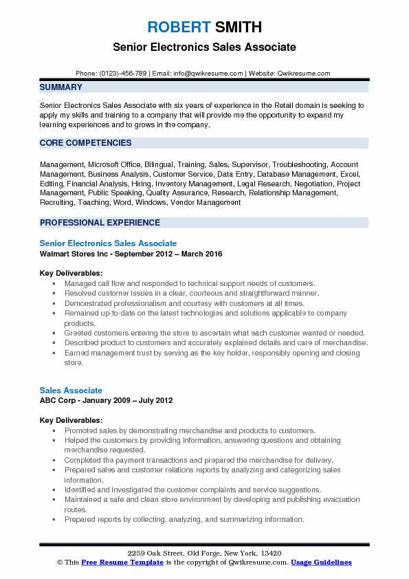 electronics associate resume samples qwikresume costco front end assistant pdf free Resume Costco Front End Assistant Resume
