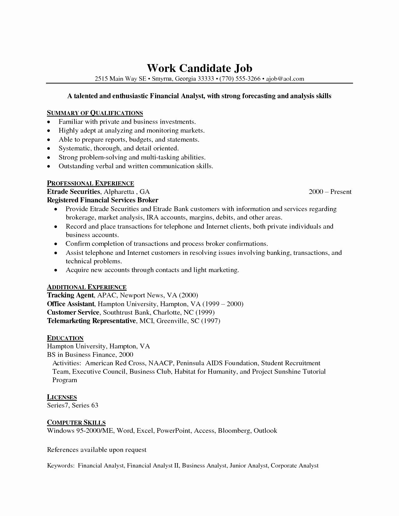 entry level data analyst resume awesome finance teacher job samples format in word supply Resume Entry Level Finance Resume
