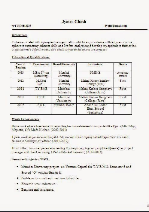 examples of profile on resume examination board management skills curriculum vitae result Resume Result Awaited Resume Format