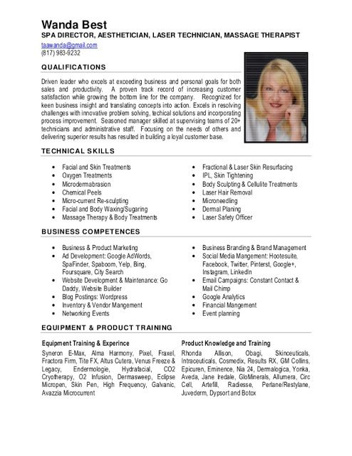 excellent resume sample examples good nursing laser hair removal free perfect courier Resume Laser Hair Removal Resume