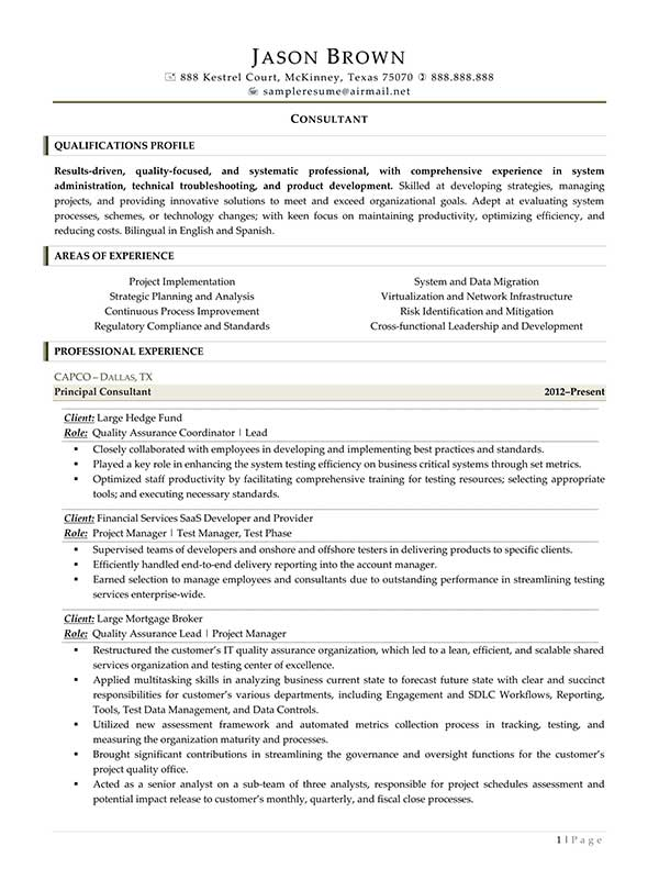 financial services consultant resume workday hotel receptionist job description for Resume Workday Consultant Resume