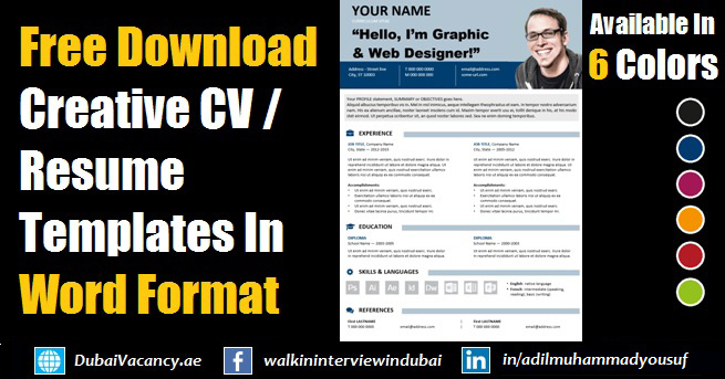 free editable resume cv template in ms word format templates your financial analyst Resume Resume Templates Download Your Free Resume Template