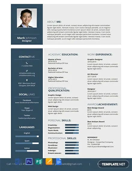 free resume templates word indesign apple publisher illustrator template net cool Resume Cool Resume Templates Free Download