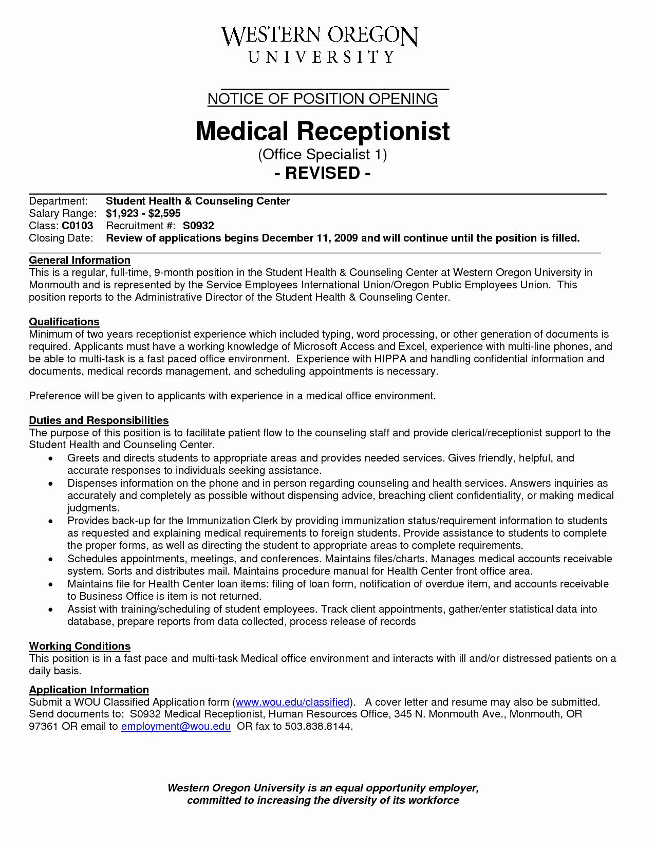 front desk clerk resume fresh medical receptionist with no experience jobs worker program Resume Front Desk Worker Resume