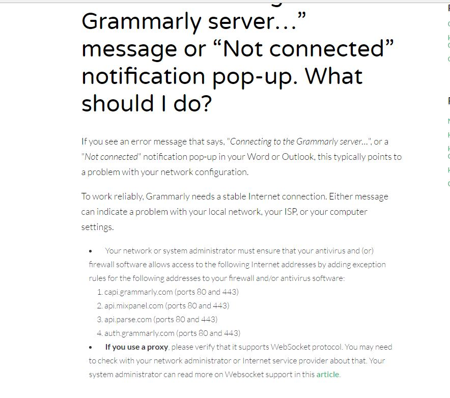 grammar checker issue web protection filtering application visibility control utm Resume Grammarly Resume Template