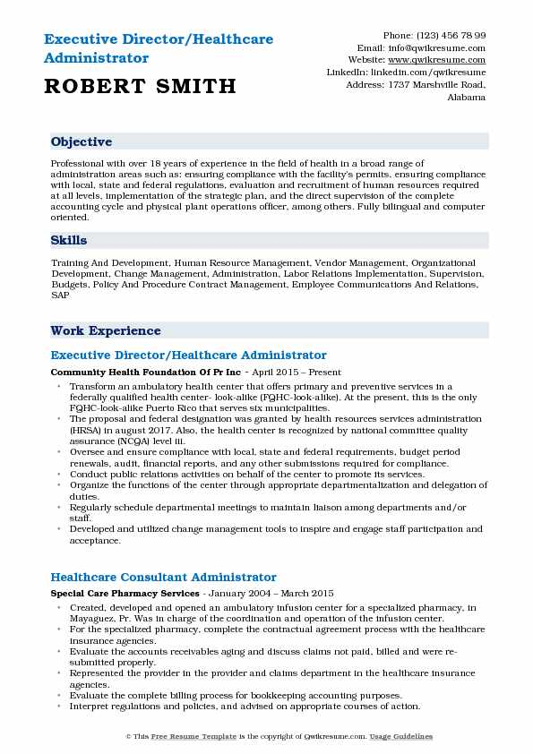 healthcare administrator resume samples qwikresume objective for examples pdf recreation Resume Objective For Healthcare Resume Examples