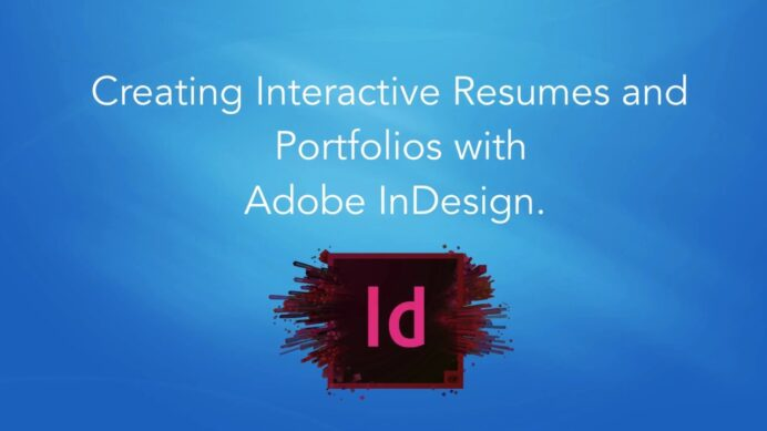 interactive resumes and portfolios with adobe indesign learn design an resume Resume Learn Adobe Indesign Design An Interactive Resume Portfolio
