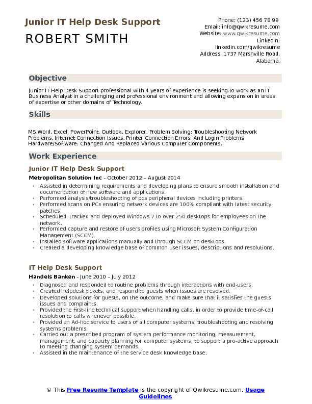 it help desk support resume samples qwikresume active directory points pdf physical Resume Active Directory Resume Points