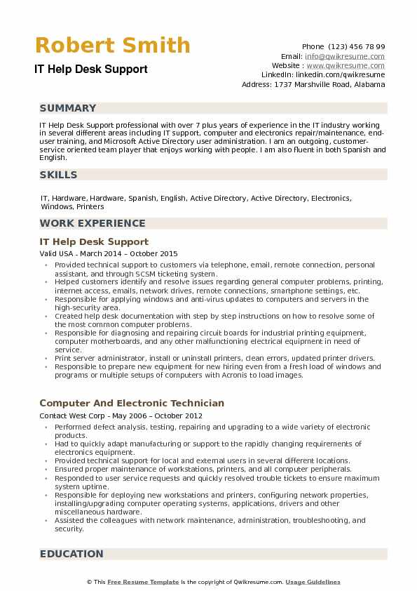 it help desk support resume samples qwikresume active directory points pdf software Resume Active Directory Resume Points