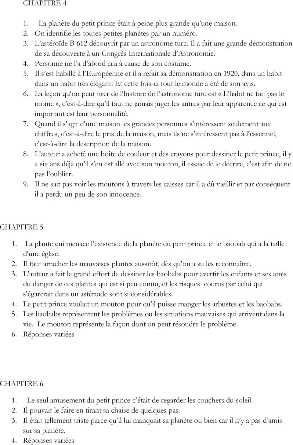 le petit prince chapitre pdf free pays resume par objective for helping others food Resume Petit Pays Resume Chapitre Par Chapitre
