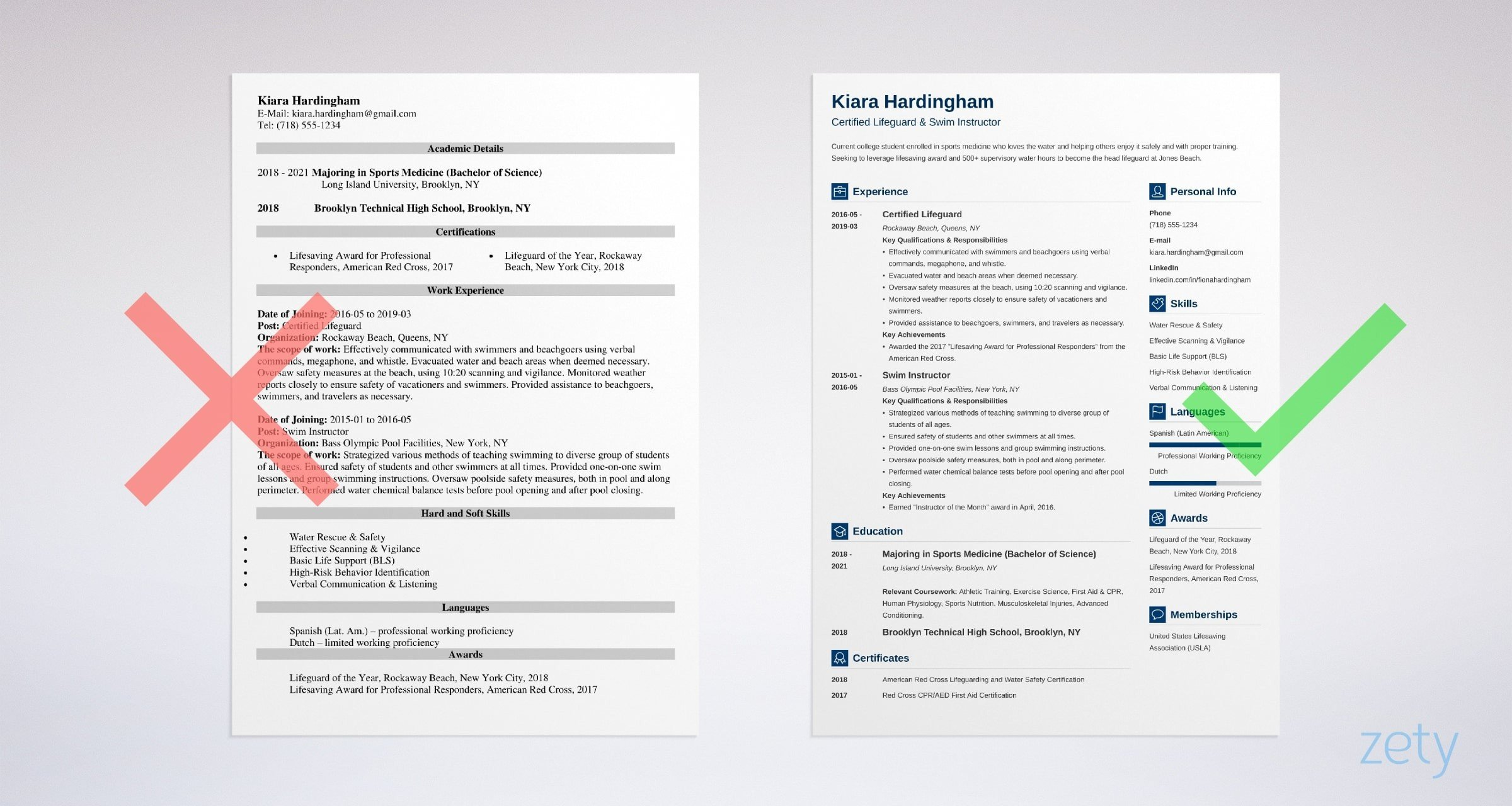 lifeguard resume with job description and skills sample example modern examples federal Resume Lifeguard Resume Sample
