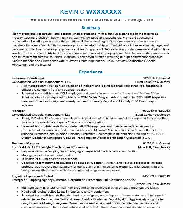 medical insurance coordinator resume example phenix city spine and joint center job Resume Medical Insurance Coordinator Job Description For Resume