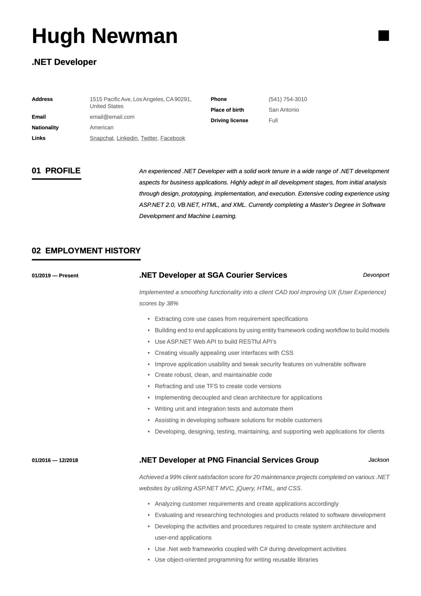 net developer resume writing guide templates silverlight scaled simple for computer Resume Silverlight Developer Resume