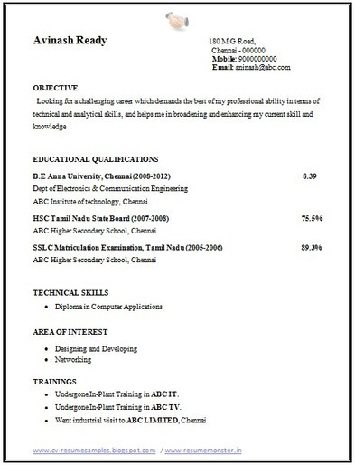 over cv and resume samples with free down for electronics communication engineers writing Resume Resume Samples For Electronics And Communication Engineers