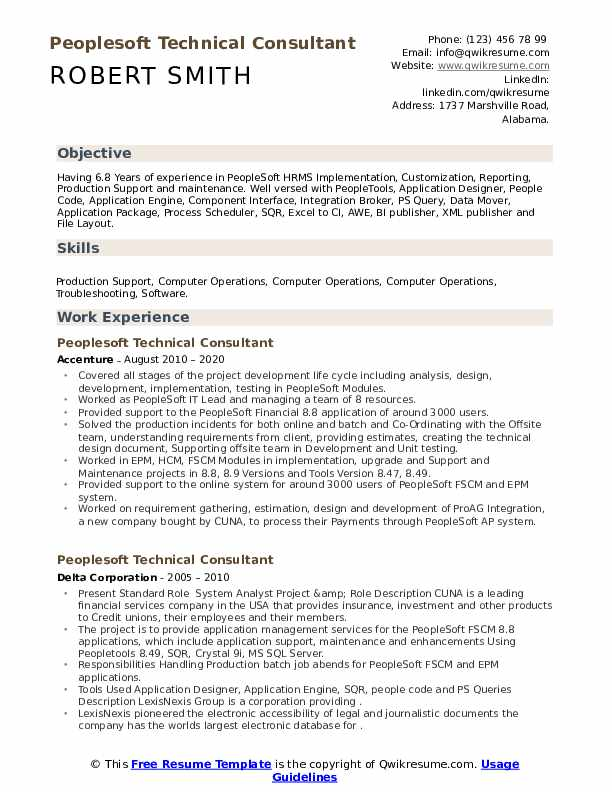 peoplesoft technical consultant resume samples qwikresume workday pdf consulting examples Resume Workday Consultant Resume