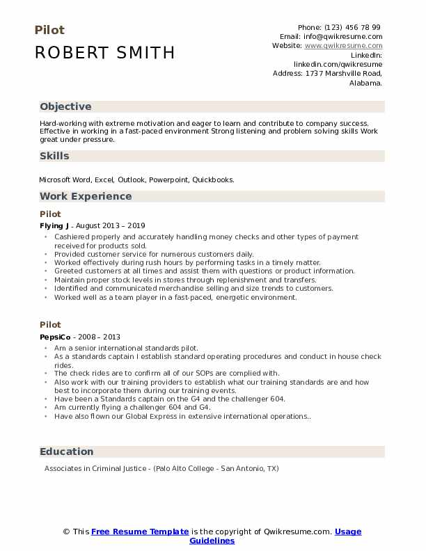pilot resume samples qwikresume best format for aviation pdf prostate procedure design Resume Best Resume Format For Aviation