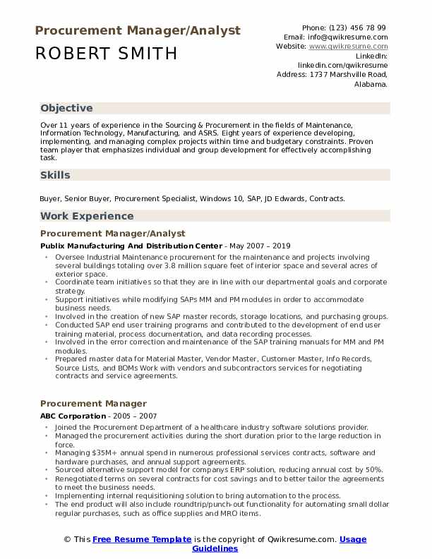 procurement manager resume samples qwikresume purchasing pdf auto body repair entry level Resume Purchasing Manager Resume