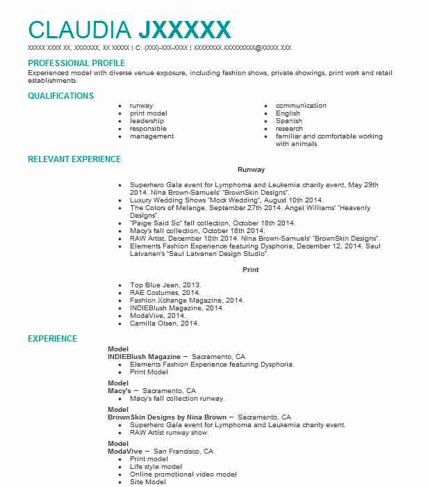 professional resume examples livecareer skills for modeling adobe campaign logo ideas Resume Skills For Modeling Resume