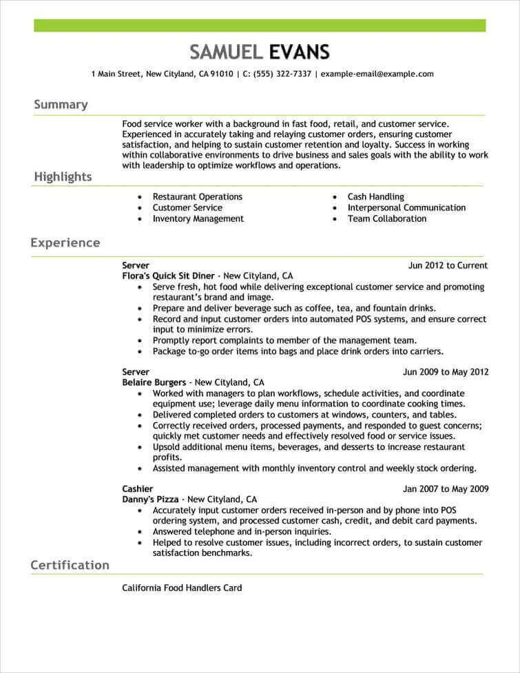 professional senior manager executive resume samples livecareer format for experienced Resume Resume Format For Experienced Customer Service Executive