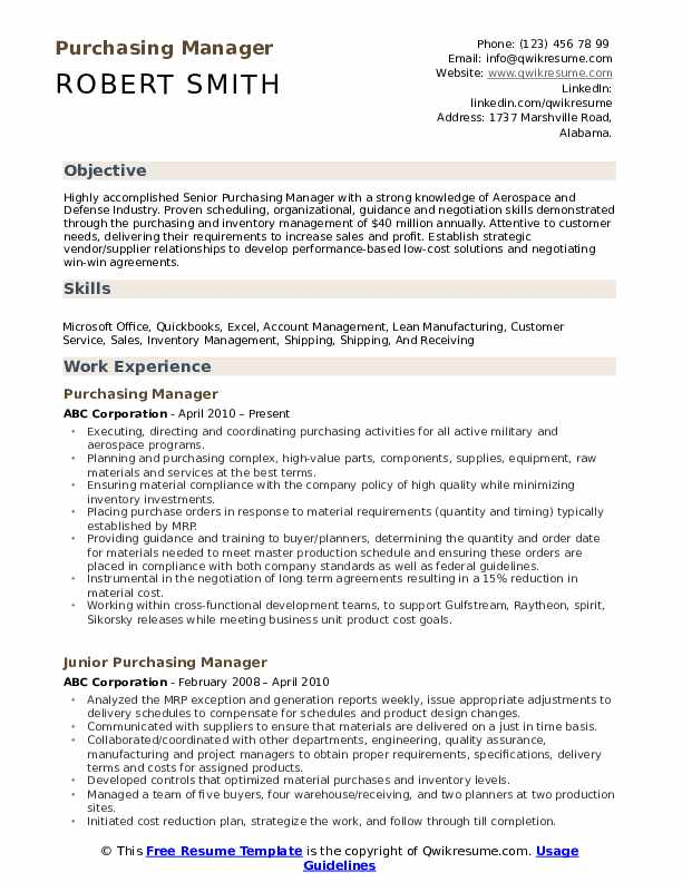 purchasing manager resume samples qwikresume pdf accounts payable team leader sample for Resume Purchasing Manager Resume
