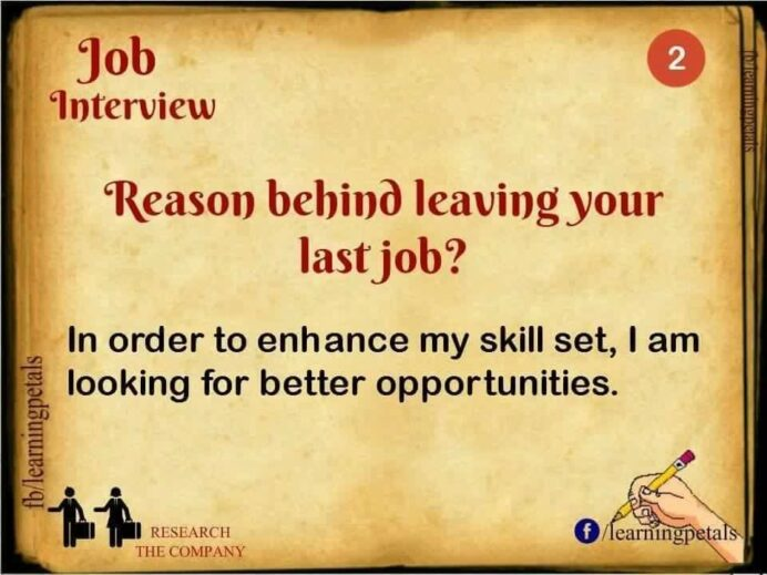 reason for leaving last job interview advice questions good reasons resume graphic design Resume Good Reasons For Leaving A Job For Resume