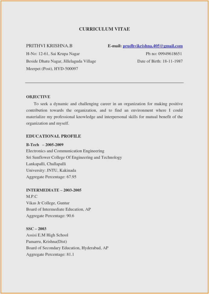resume for freshers engineers sample samples electronics and communication format pdf the Resume Resume Samples For Electronics And Communication Engineers