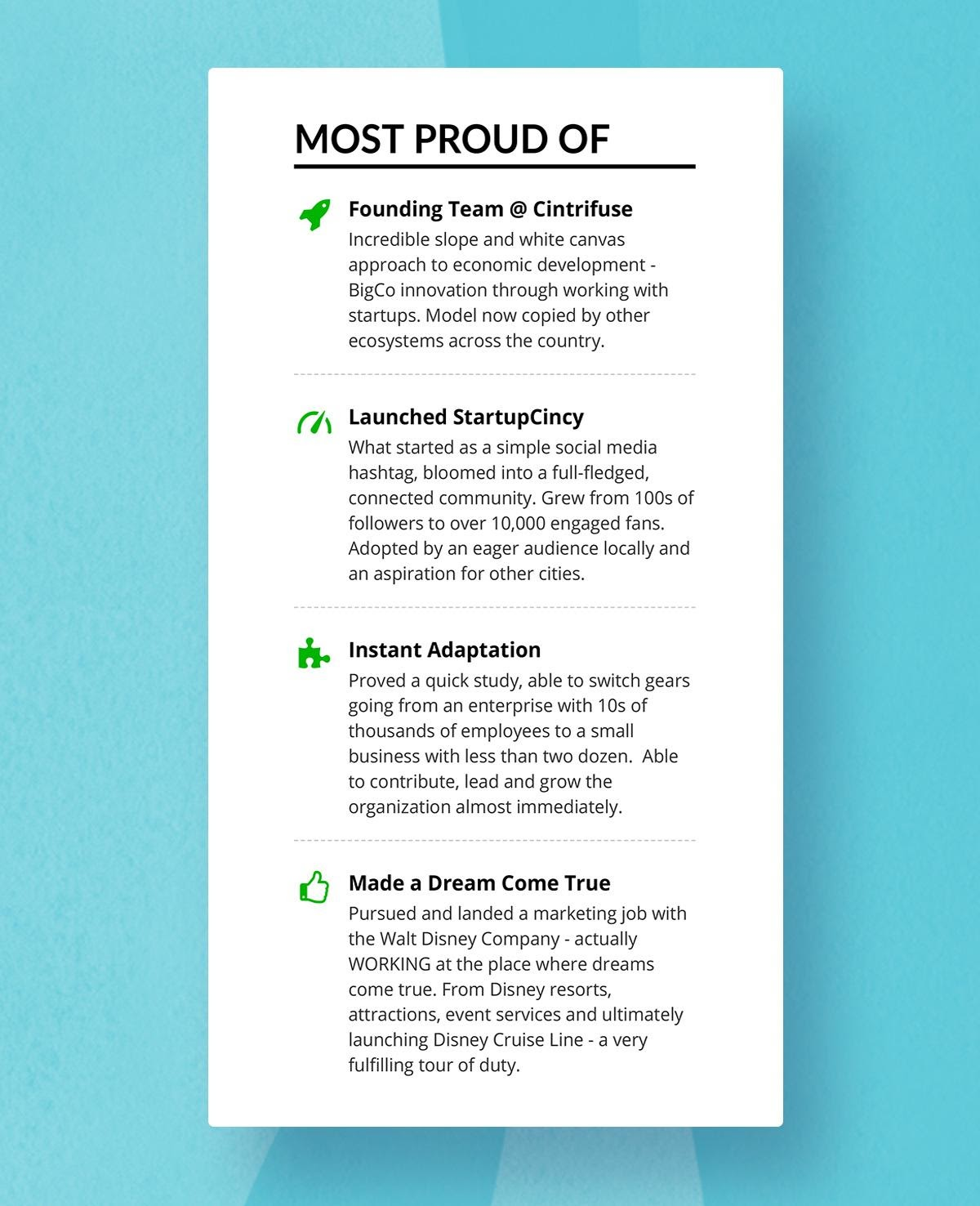 resume headings to stand out in with examples creative image7 executive summary advice Resume Creative Resume Headings
