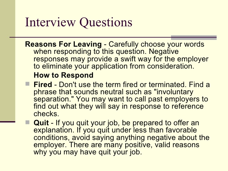 resume reason for leaving last job good reasons searching sharpening your interview Resume Good Reasons For Leaving A Job For Resume