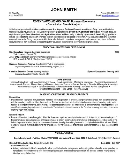 resume template for financial analyst you can it and make your own job examples entry Resume Professional Resume Help Toronto