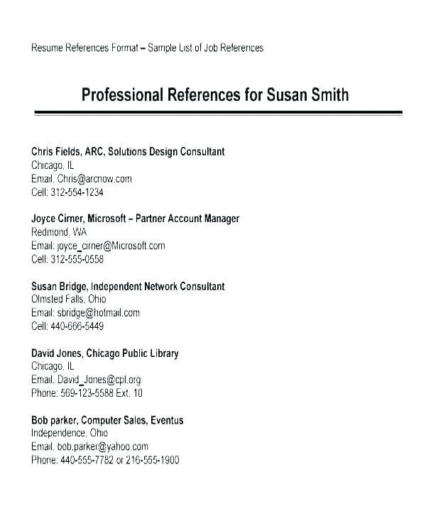 resume template with references free templates in reference for section federal Resume Resume Template With Reference Section