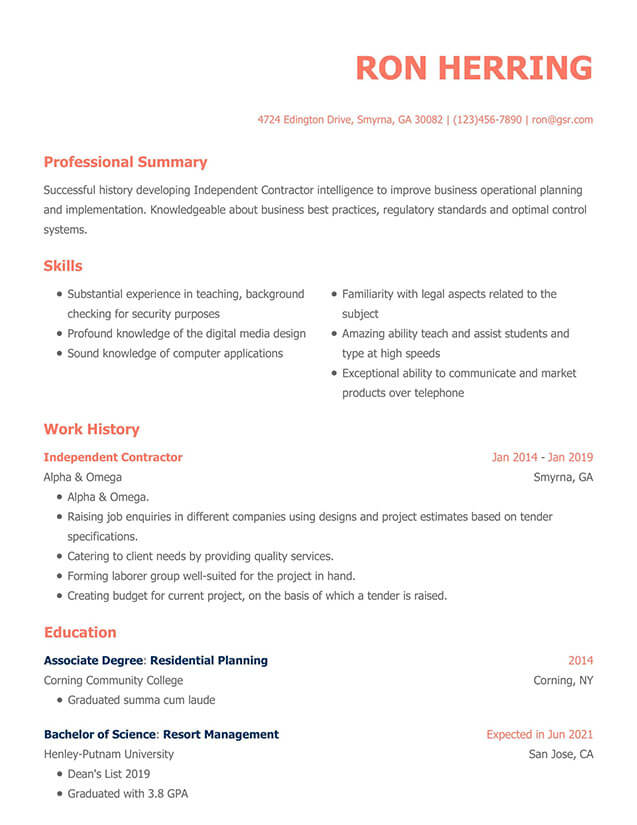resume templates edit in minutes grammarly template modern redhat logo for office Resume Grammarly Resume Template
