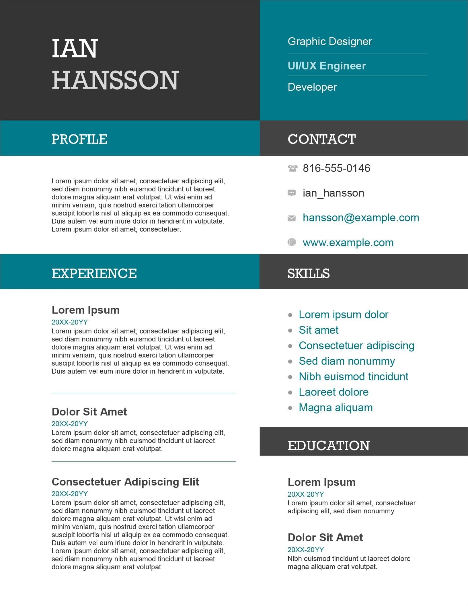 resume templates for microsoft word free ms word19 personal trainer format medical Resume Microsoft Resume Templates Free