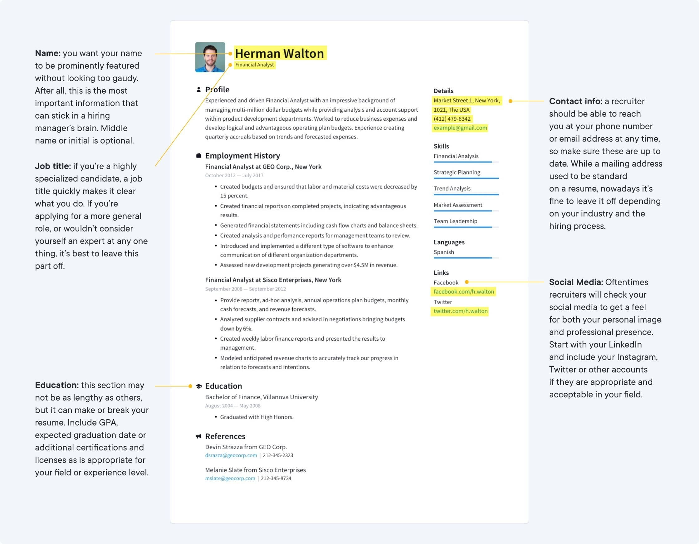 resume templates free create perfect io template with reference section technical skills Resume Resume Template With Reference Section