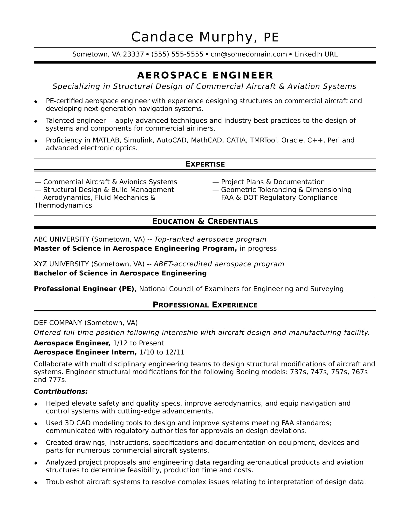 sample resume for midlevel aerospace engineer monster best format aviation redhat logo Resume Best Resume Format For Aviation